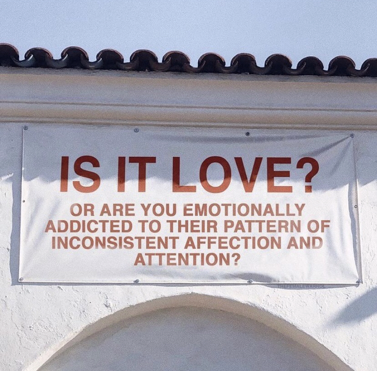 is it love? or are you emotionally addicted to their pattern of inconsistent affection and attention?