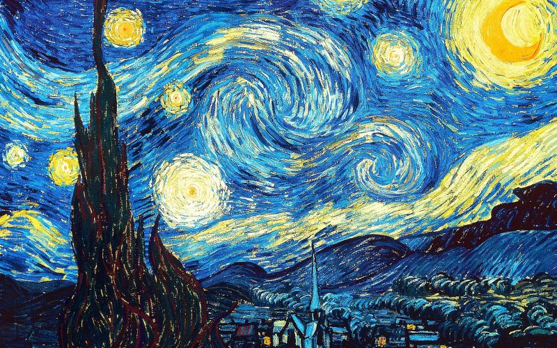 reality is an illusion - starry night