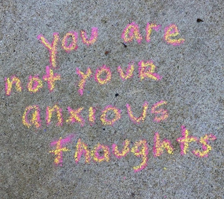 you are not your anxious thoughts